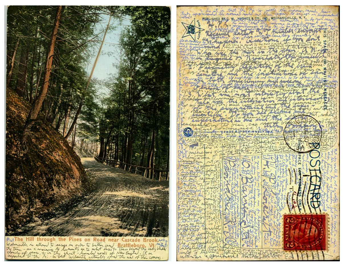 Lovecraftian Postcard